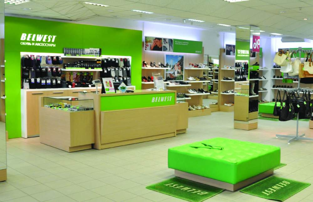 Belvest company opened 3 store in Russia
