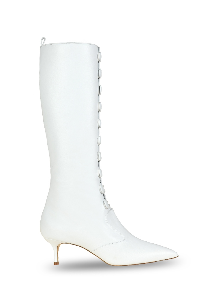 Adam Lippes x Manolo Blahnik Boots Photo: Footwearnews.com