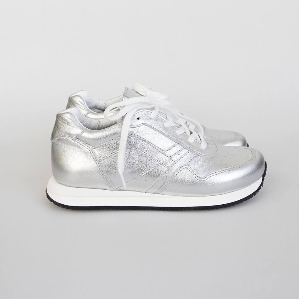 Silver sneakers Afour Sabotage Argentum