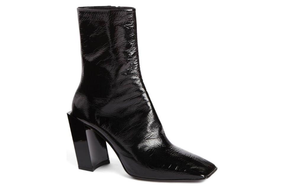 Balenciaga Square Toe Ankle Boots