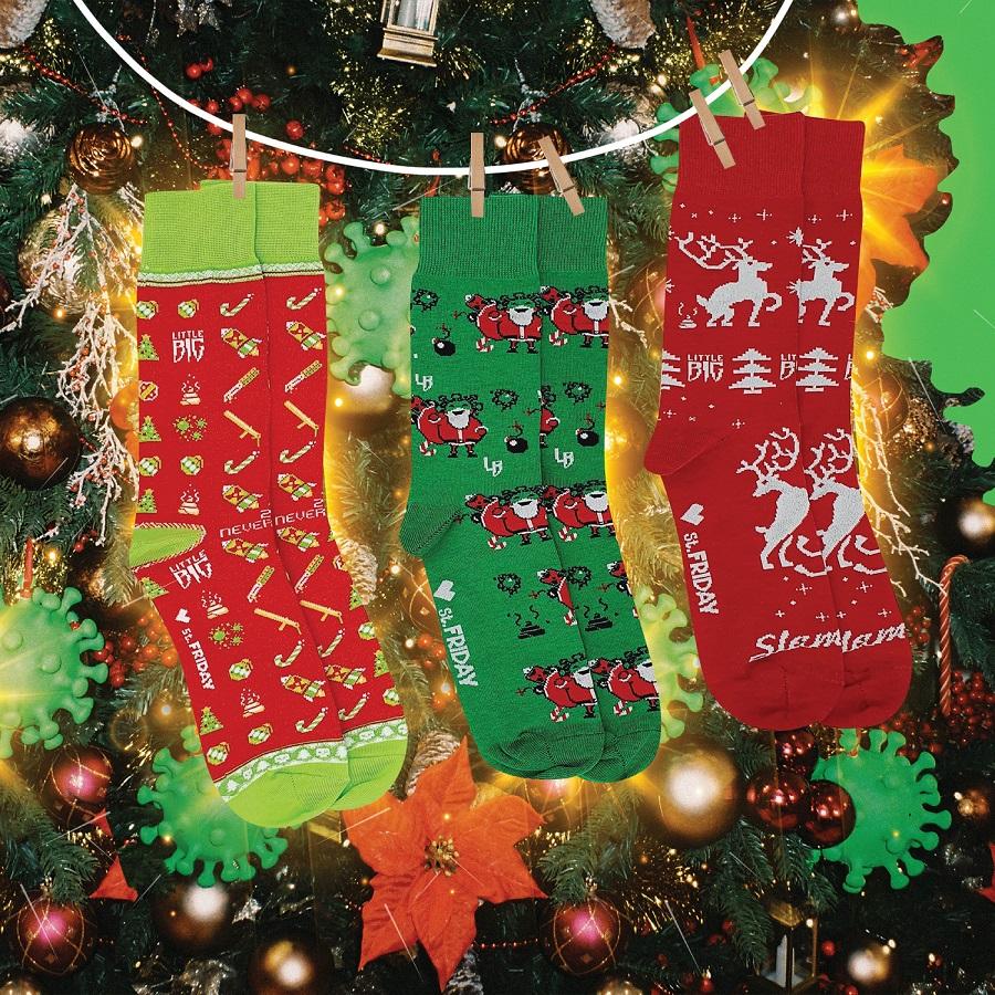 I St. Friday Socks e il gruppo pop Little Big pubblicano una collezione congiunta per il nuovo anno