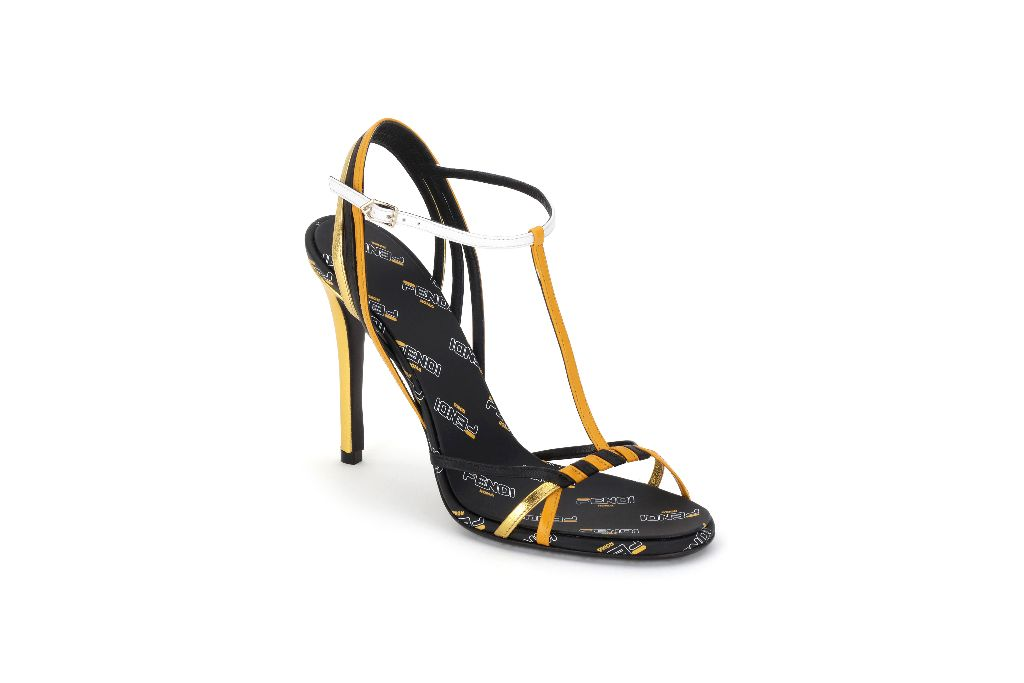 Fendi sandals from the new FendiMania collection, photo: Footwearnews.com