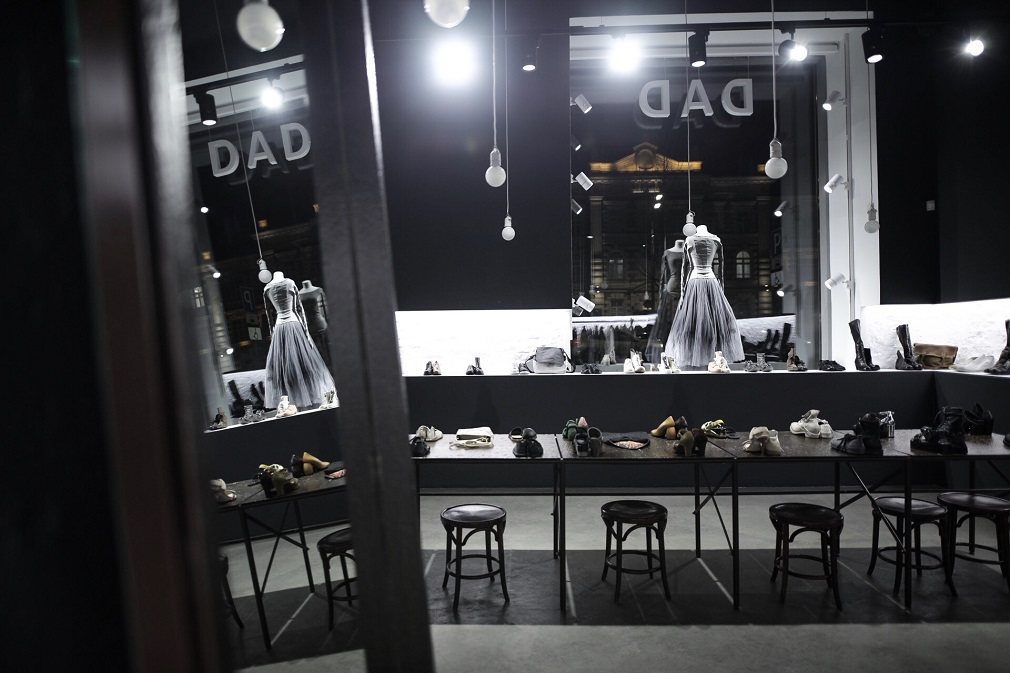 DAD store interior in Moscow