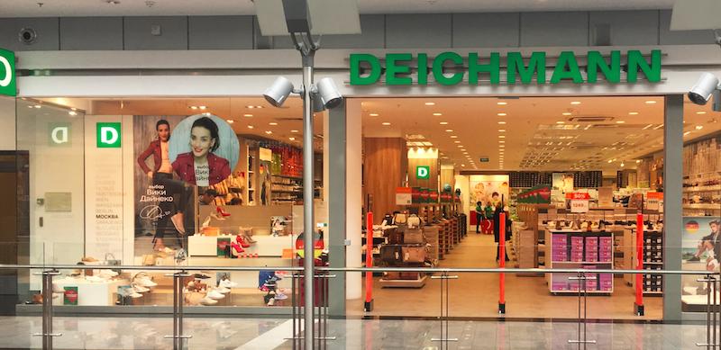 Deichmann opens the first store in Krasnodar