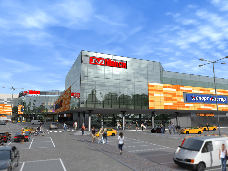 "A new shopping and entertainment center ""Maxi"" has opened in Arkhangelsk"