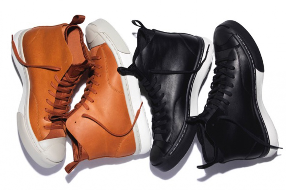 Converse winter sneakers appear in the collection