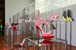 The cult brand of shoes and accessories Jimmy Choo celebrated its 15 anniversary with an exhibition in Moscow