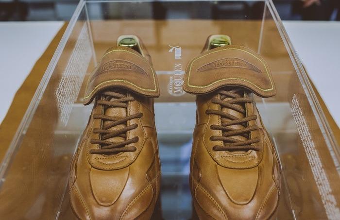 Puma and Alexander McQueen create Puma King by AmcQ boots