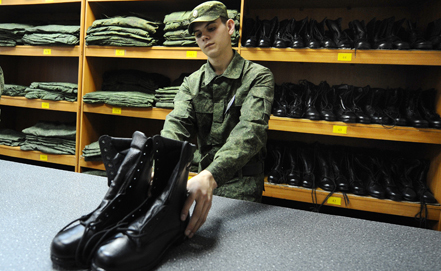 Turks Shoe the Russian Army