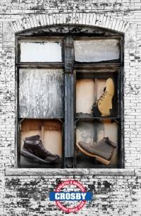 La marca de zapatos escocesa Crosby debutó en Rusia