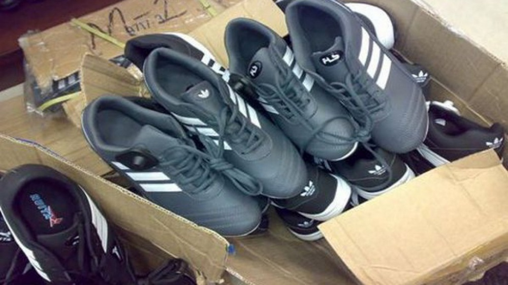 156 pairs of counterfeit shoes from China to be destroyed in Kaliningrad