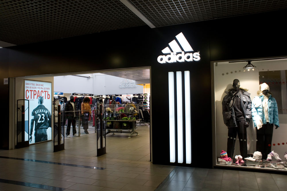 Adidas, Carlo Pazolini and Kari showed 100% coverage in Russia