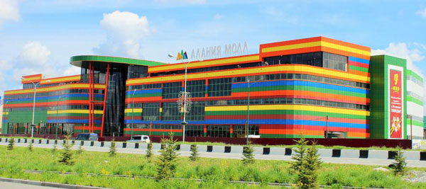 The first conceptual shopping center will open in Vladikavkaz