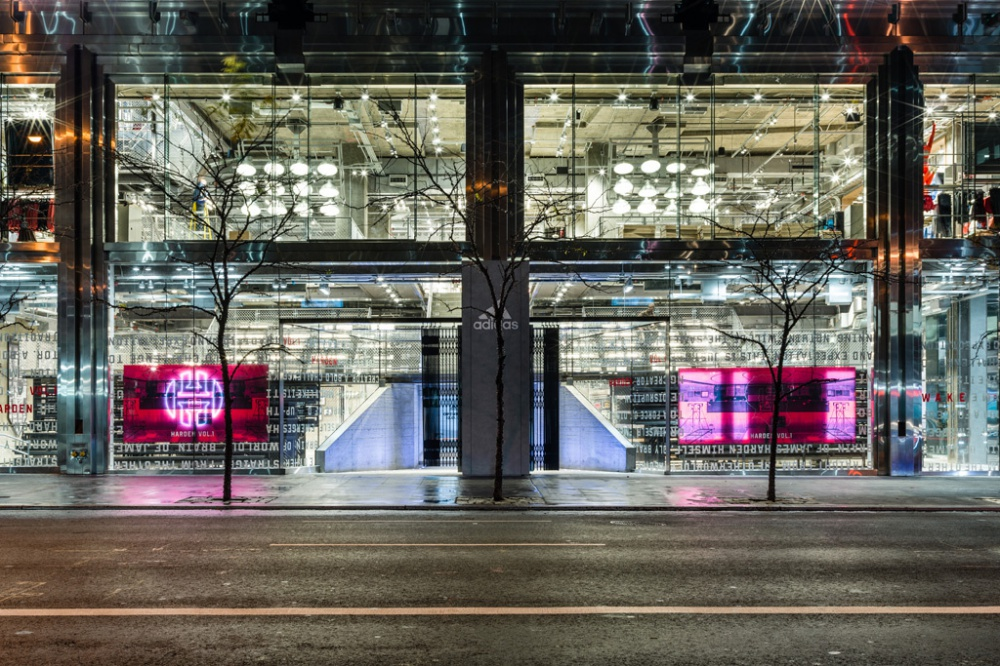 Adidas Opens World's Largest Store in Midtown Manhattan