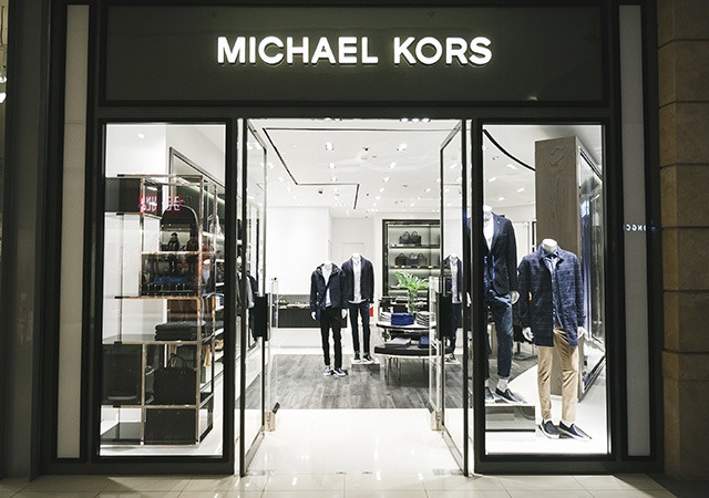 Michael Kors opened the first men's boutique in Moscow