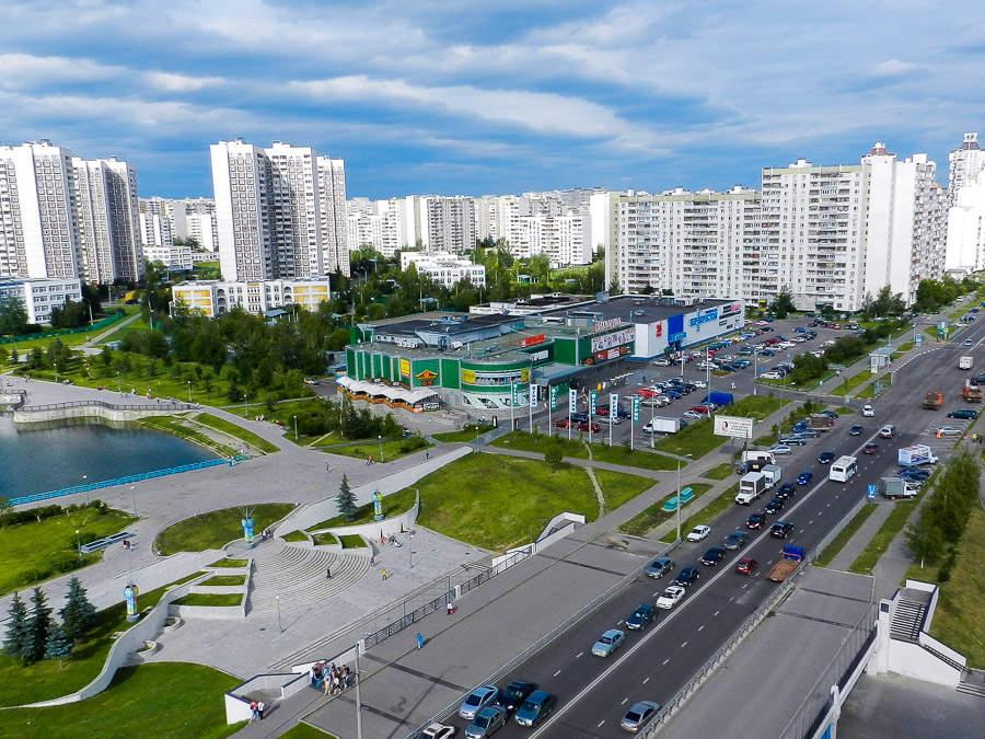 8 neuer Einkaufszentren wird nach den Ergebnissen von 2017 in der Region Moskau erscheinen.
