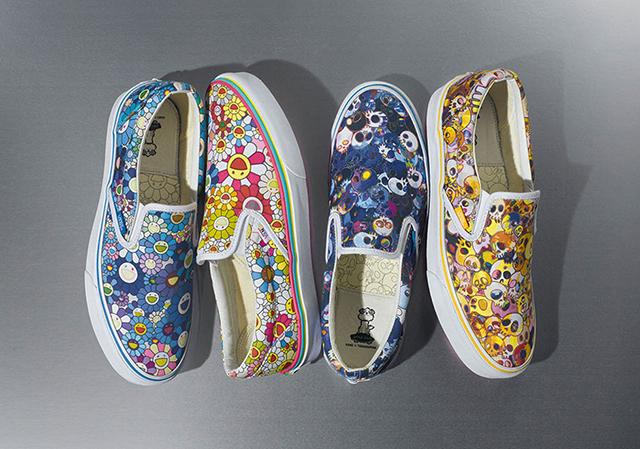 Vans invited to paint Takashi Murakami capsule