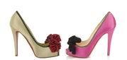 Сhristian Louboutin lanzó una línea especial de zapatos de raso