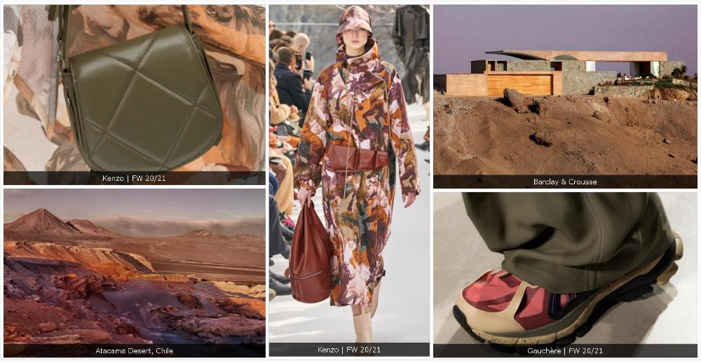 Fashion themes for the women's shoe range: PERSIST and RECOMPOSE.