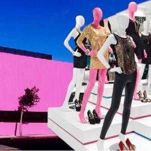 Visual merchandising training for fashion industry stores