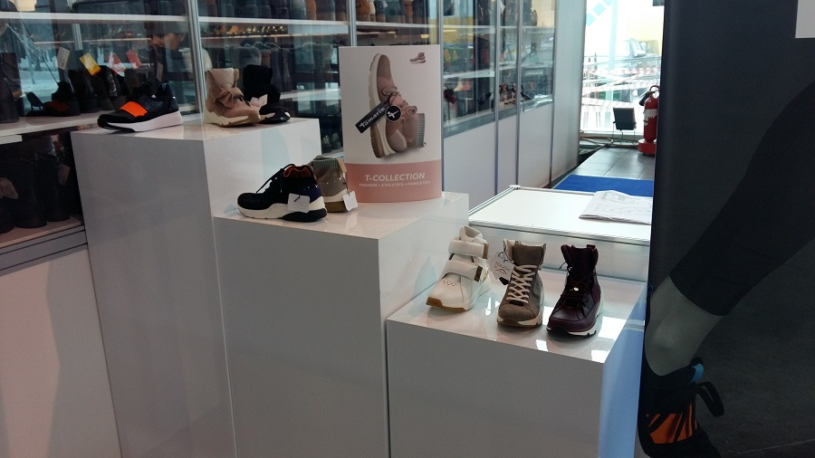 Tamaris presented new collections - sports-style shoes and comfortable shoes with heels