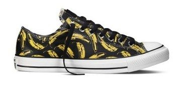 Converse presented a second collaboration with the Warhol Foundation