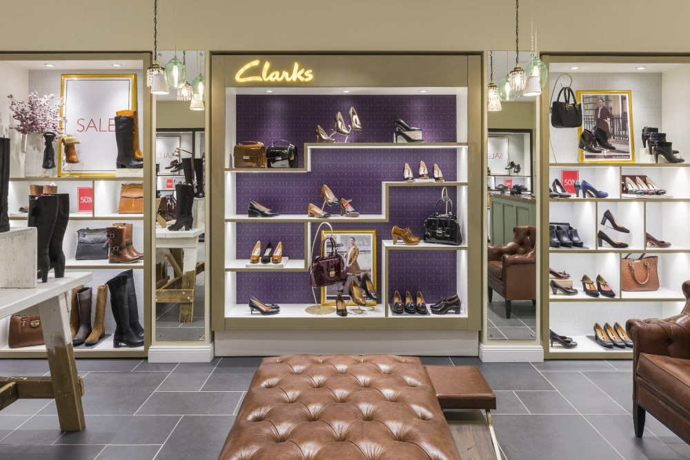 Clarks opened a new store in the AFIMALL City shopping center