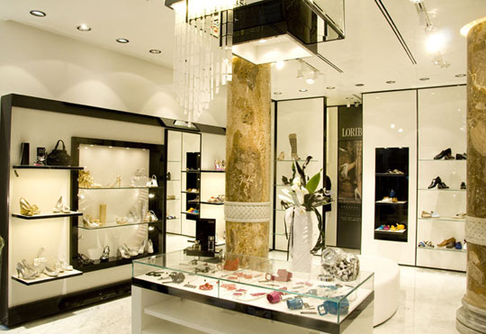 A new Loriblu boutique has opened in Moscow
