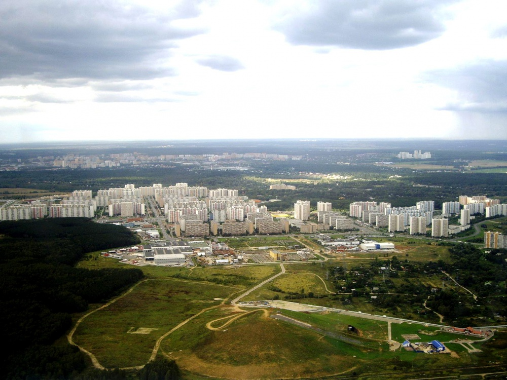 Shopping center will appear in new Moscow