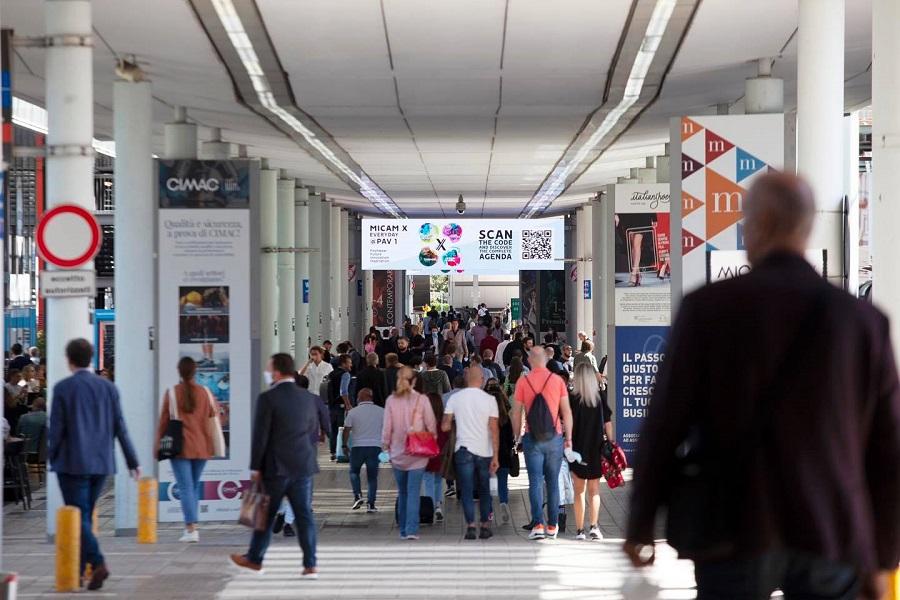Die MICAM-Organisatoren stellten die hohe Besucherzahl der Ausstellung fest
