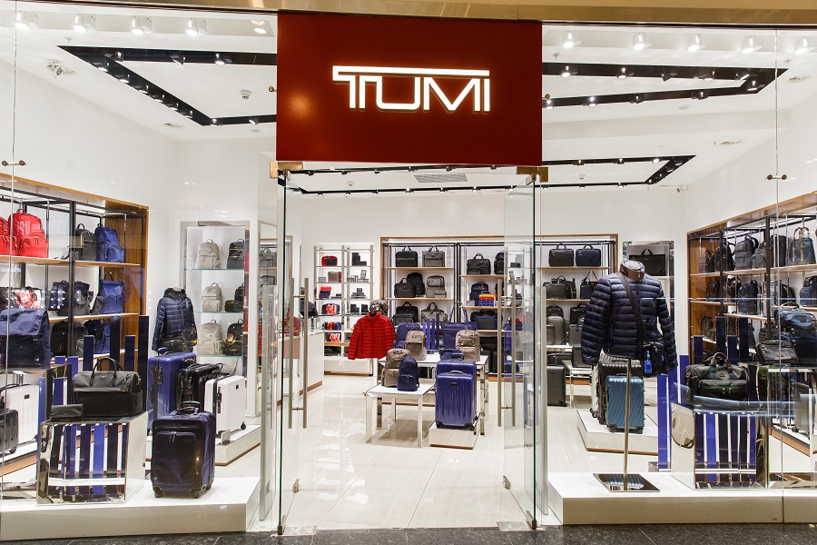 In Moscow, opened a boutique of the American brand of accessories TUMI