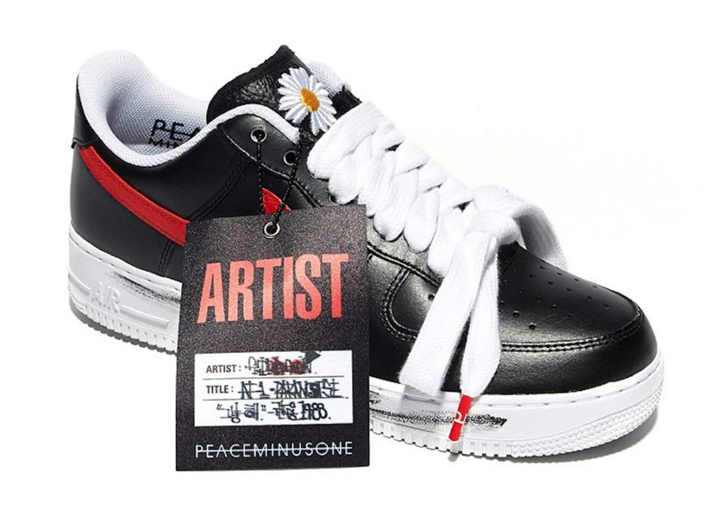 Nike released sneakers in collaboration with k-pop star G-Dragon