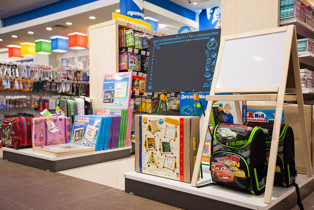 New Detsky Mir stores appeared in St. Petersburg, Bratsk and Engels