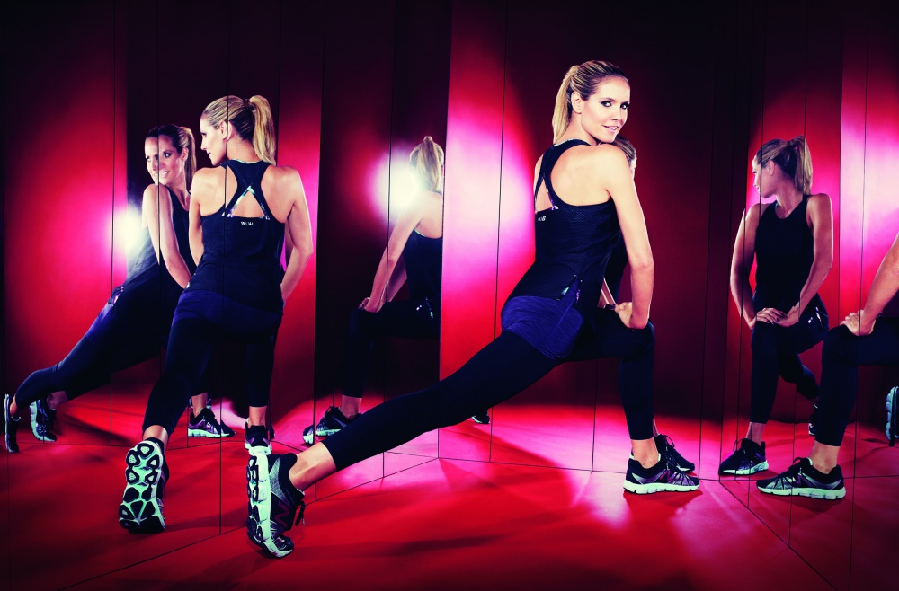 Heidi Klum has created a collection for New Balance