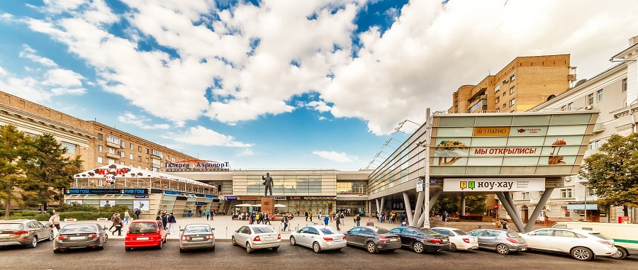 Moscow marks a trend towards the development of small format shopping centers