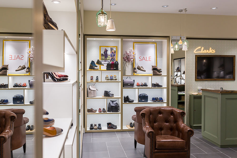 Legendary Clarks shoes in Russia