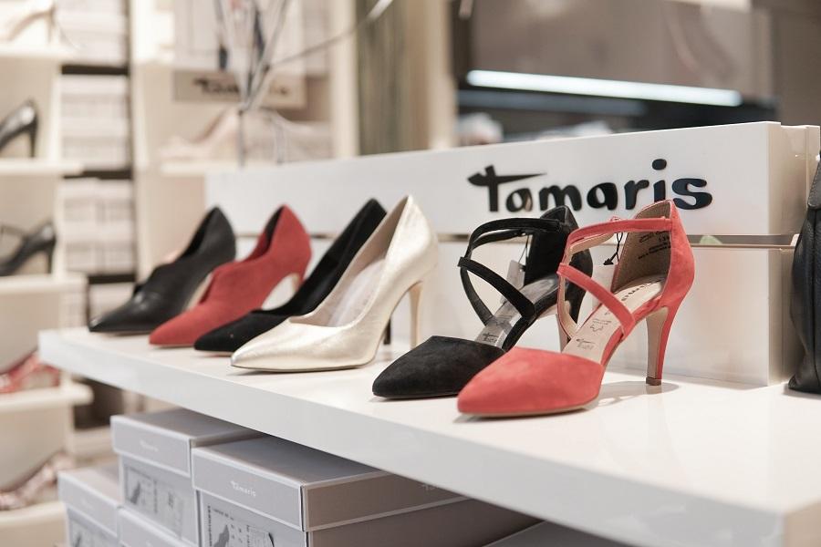 bd795a5db В актуальной коллекции обуви Tamaris весна-лето'19, представленной в  питерской рознице, в том числе присутствуют модели капсульных линеек  Fashletics by ...