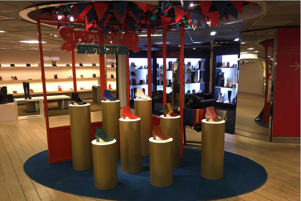 Violet Tomas pop-up store opens in Galeries Lafayette in an original concept