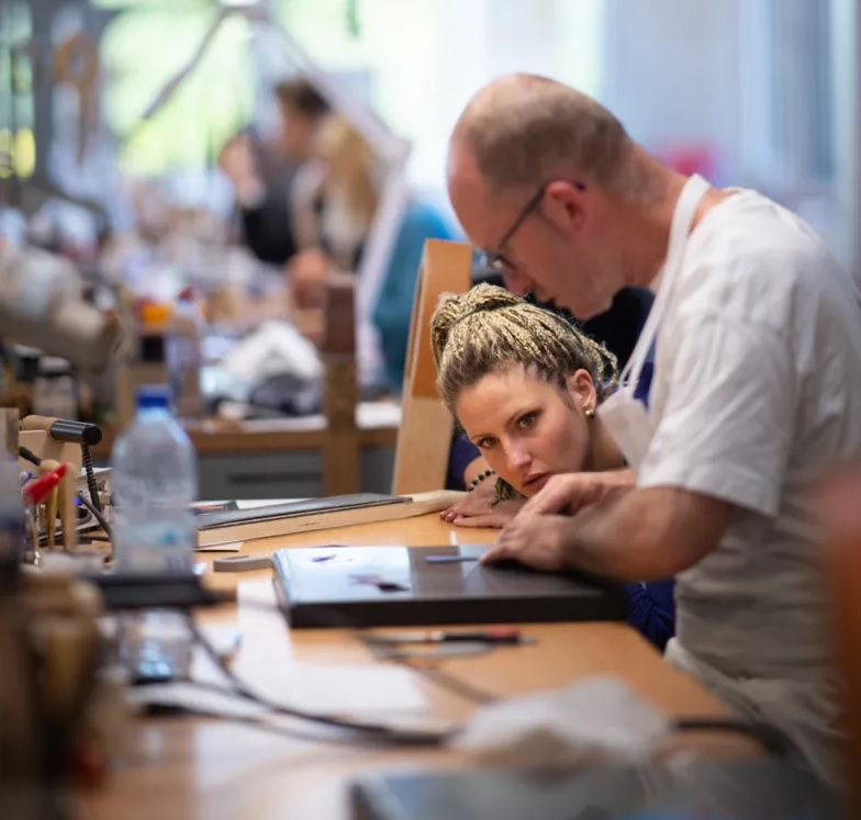 Hermès opens a professional leatherworking training center