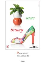 Italian shoes will advertise tomato, basil and mozzarella