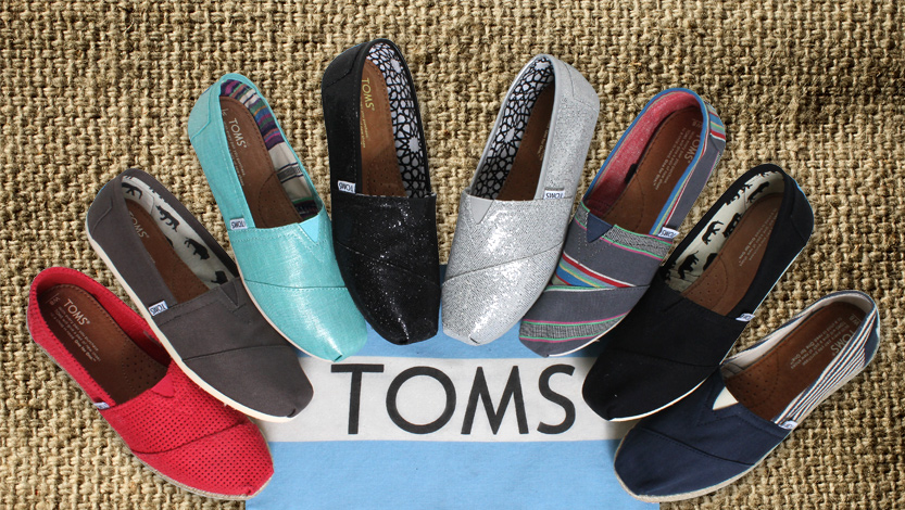 """Toms Promotion """"One Day Without Shoes"""""""