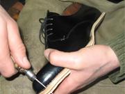 A mobile shoe workshop swept across Barnaul