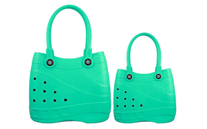 Fashion for crocans was supported by manufacturers of bags