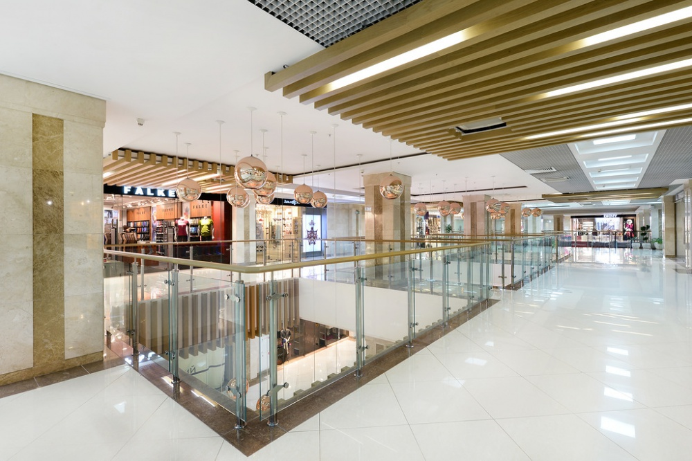 Shopping days of InStyle magazine in the Neglinnaya Gallery shopping center