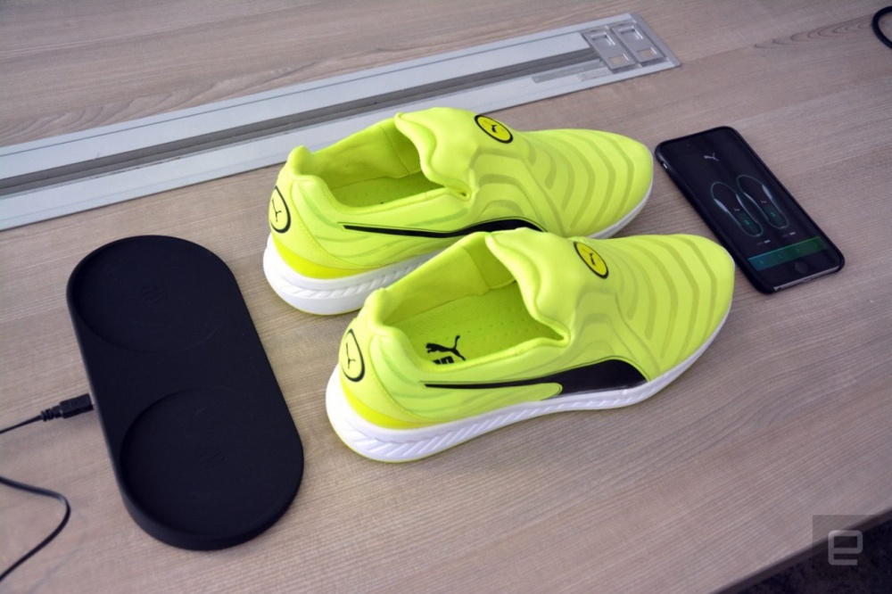 Puma also got sneakers with automatic lacing