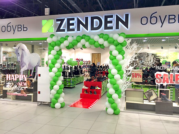 The flagship Zenden opened in Tula