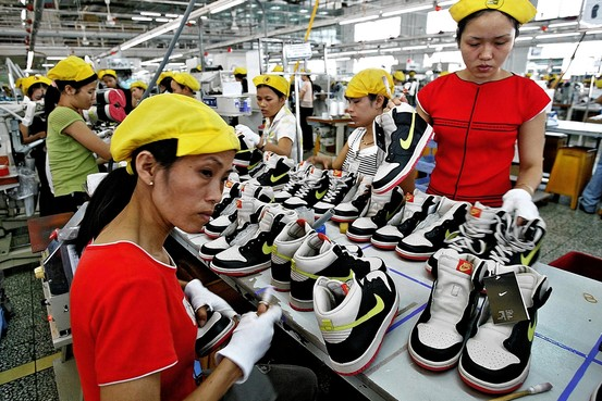Vietnam became the second exporter of shoes in the world in 2017 year