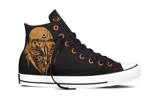 Converse released a collection with Black Sabbath