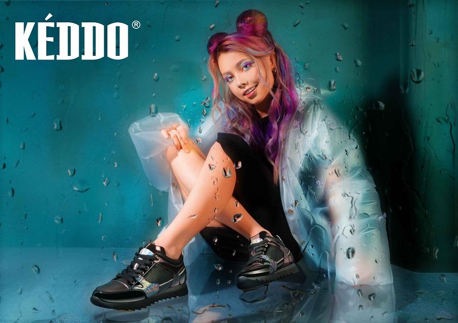 Keddo chose blogger Elena Sheidlin to face his collection