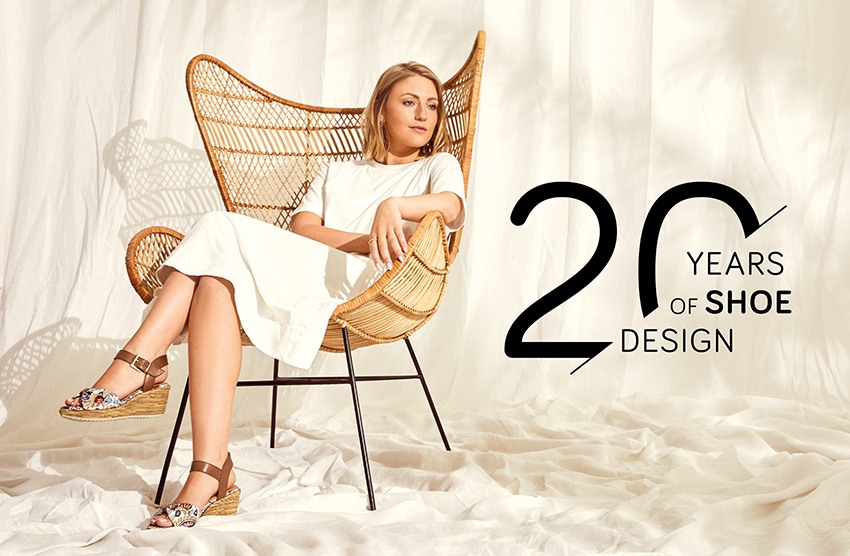 20 years with Jana: new collection of German footwear brand SS'21 in honor of the anniversary